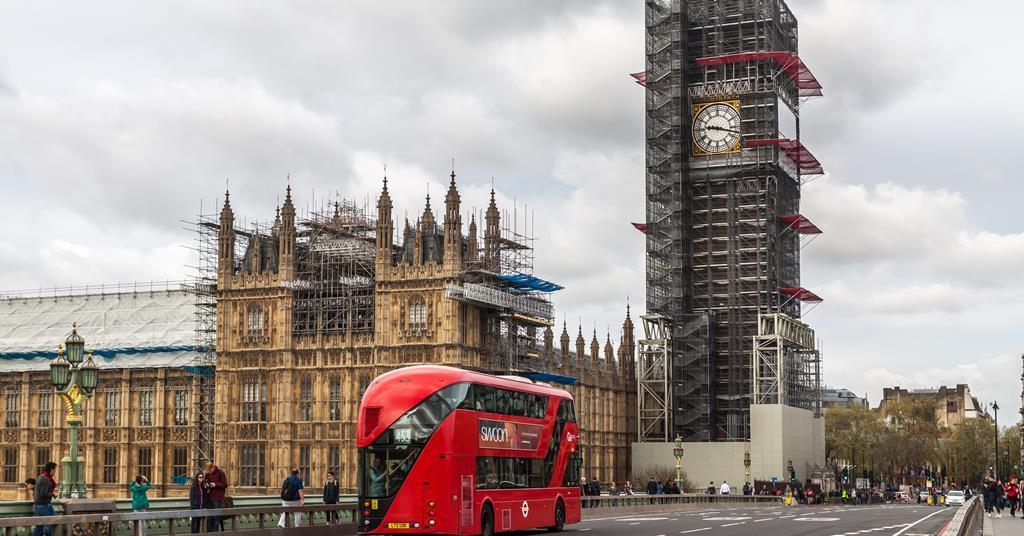 Scaffolding bill on McAlpine's Big Ben refurb tops £3.5m | News | Building