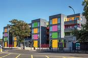 Modular housing in Ladywell