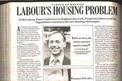Labour's housing problem cropped