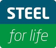 Steel for life logo