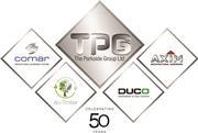 Tpg group logo 50th anniversary version