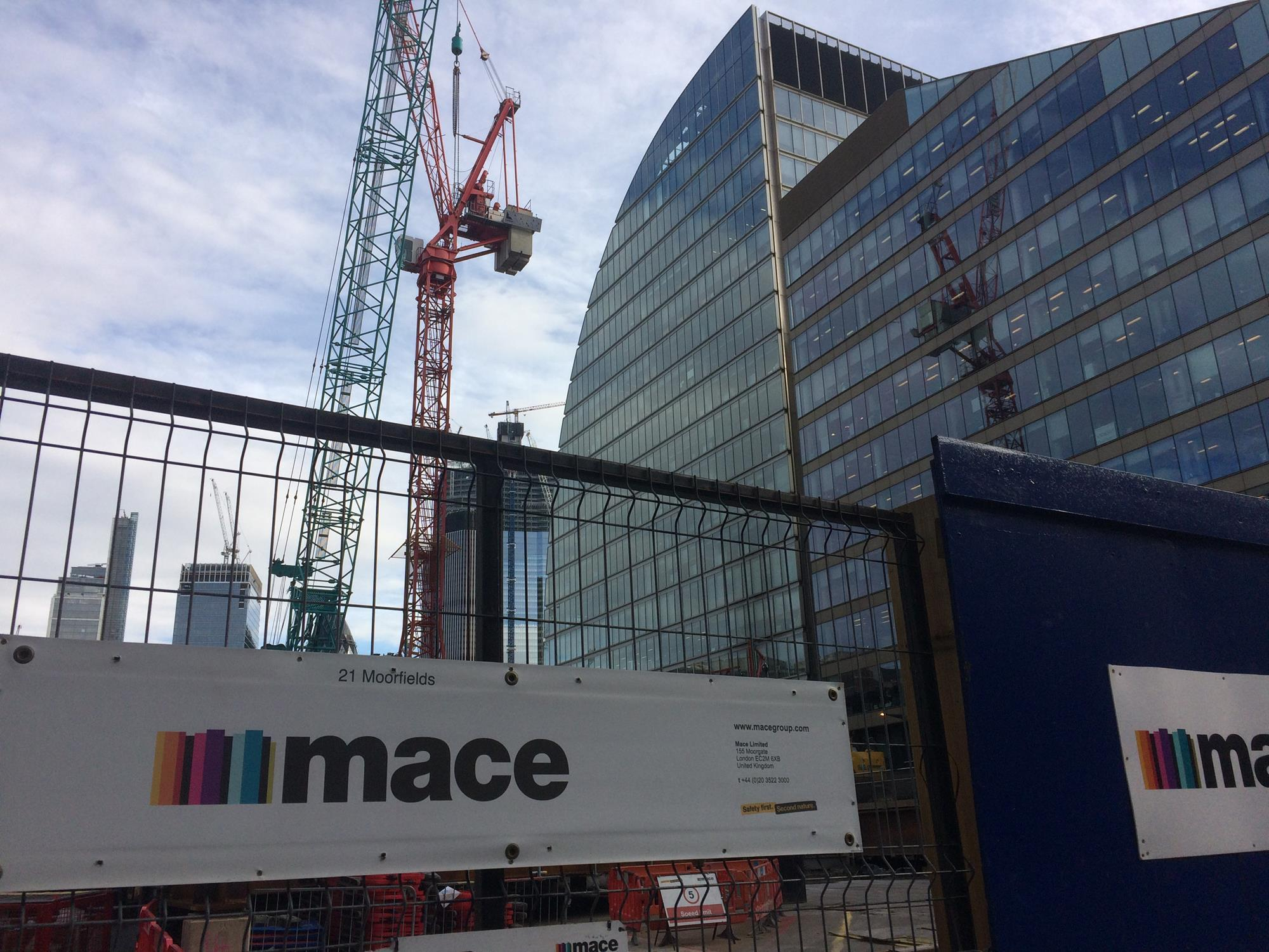 Mace calls for government to commit to construction spend