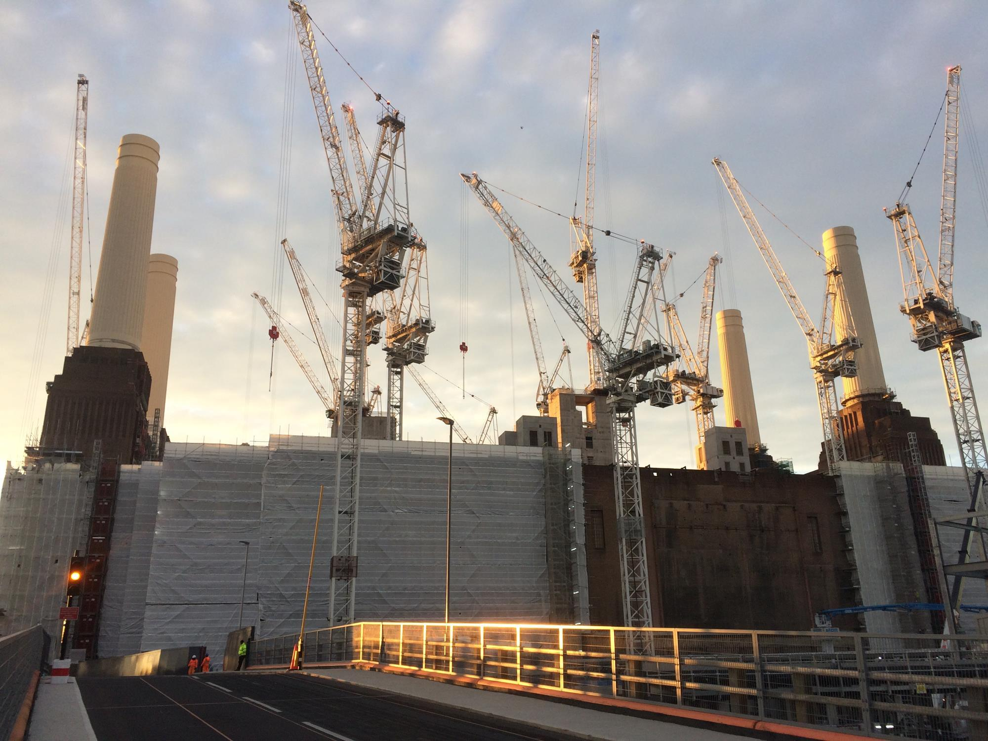 Battersea rejigs delivery roles at power station project