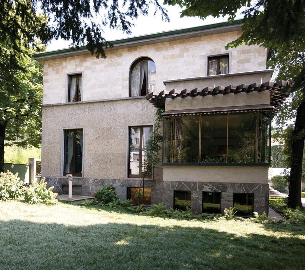 Villa necchi campiglio by piero portaluppi platform - David Kohn S Inspiration Villa Necchi Campiglio Milan Building Studies Building