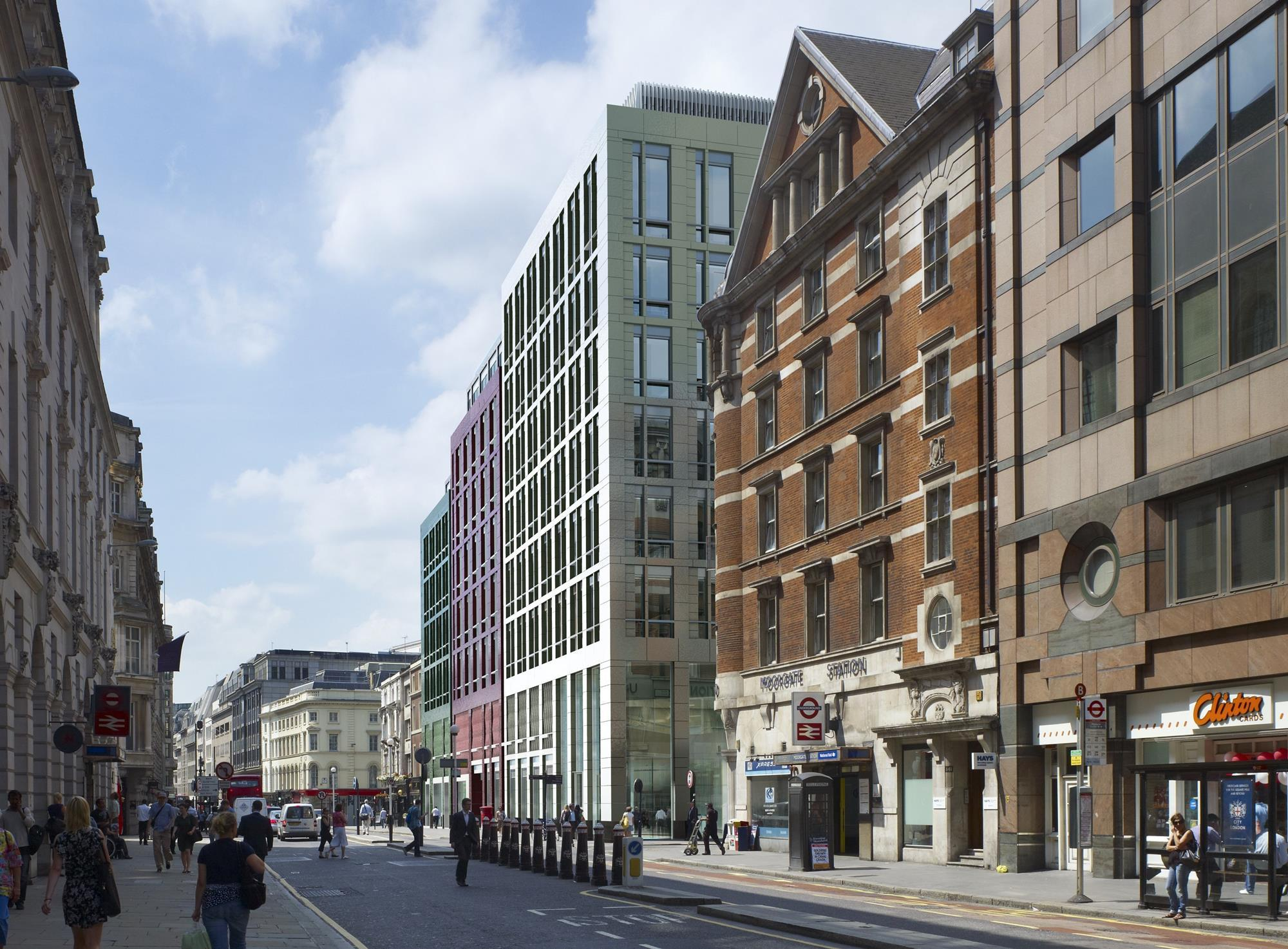 Crossrail Gets Green Light For Moorgate Plans