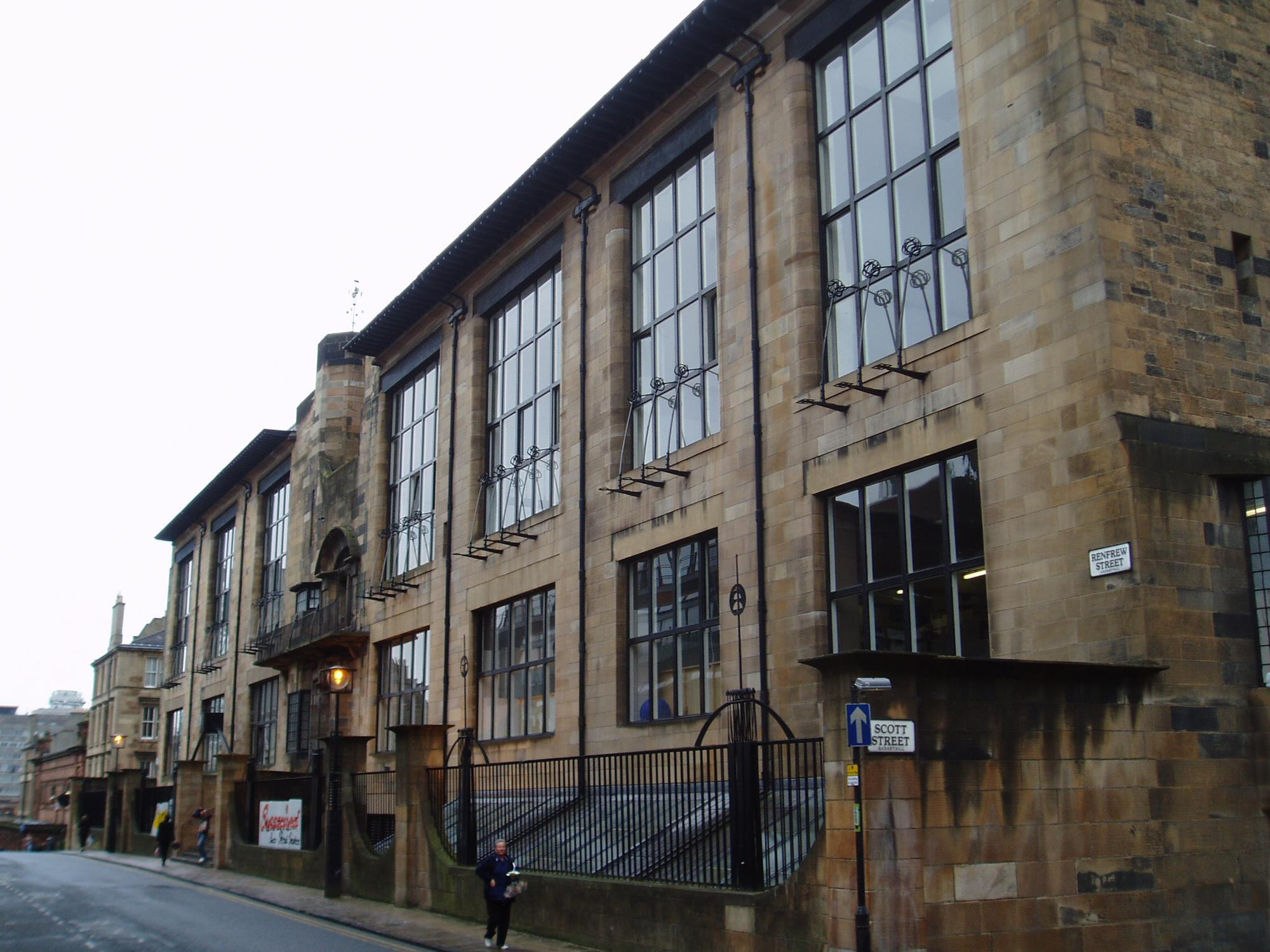 Work To Refurbish Glasgow S Mackintosh Building Suspended News Building