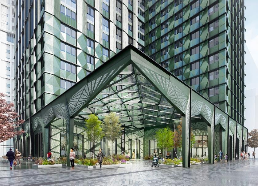 McBains lands work on south London modular towers