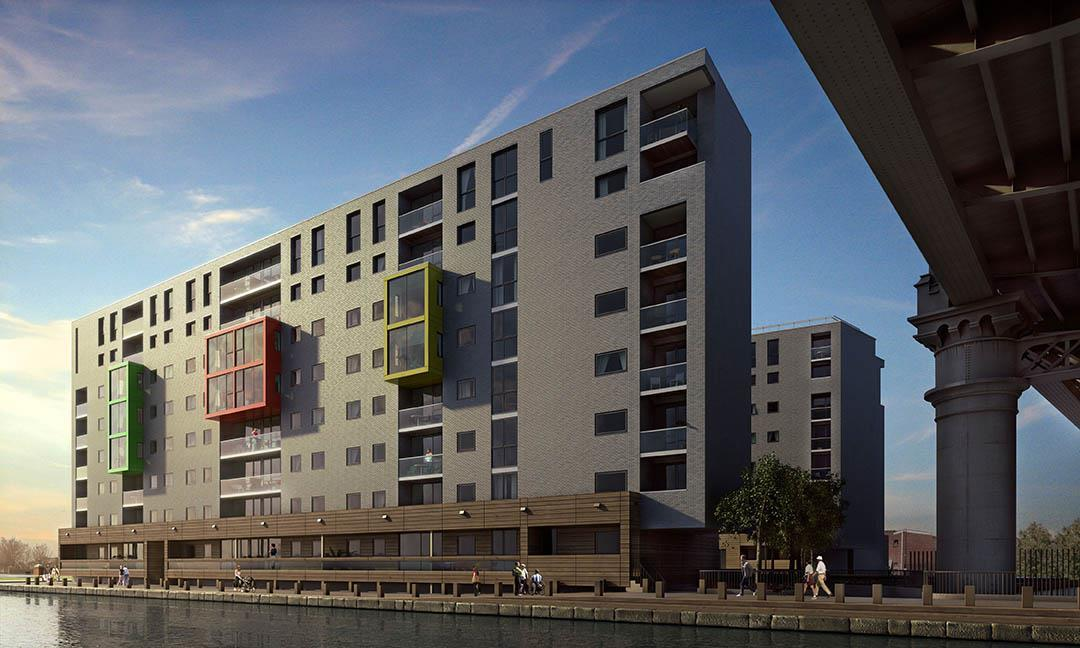 Manchesters Potato Wharf Gets Underway News Building