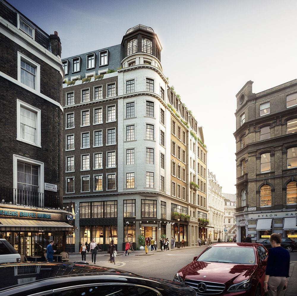 Robert De Niro Bullish On Covent Garden Hotel Plans News Building