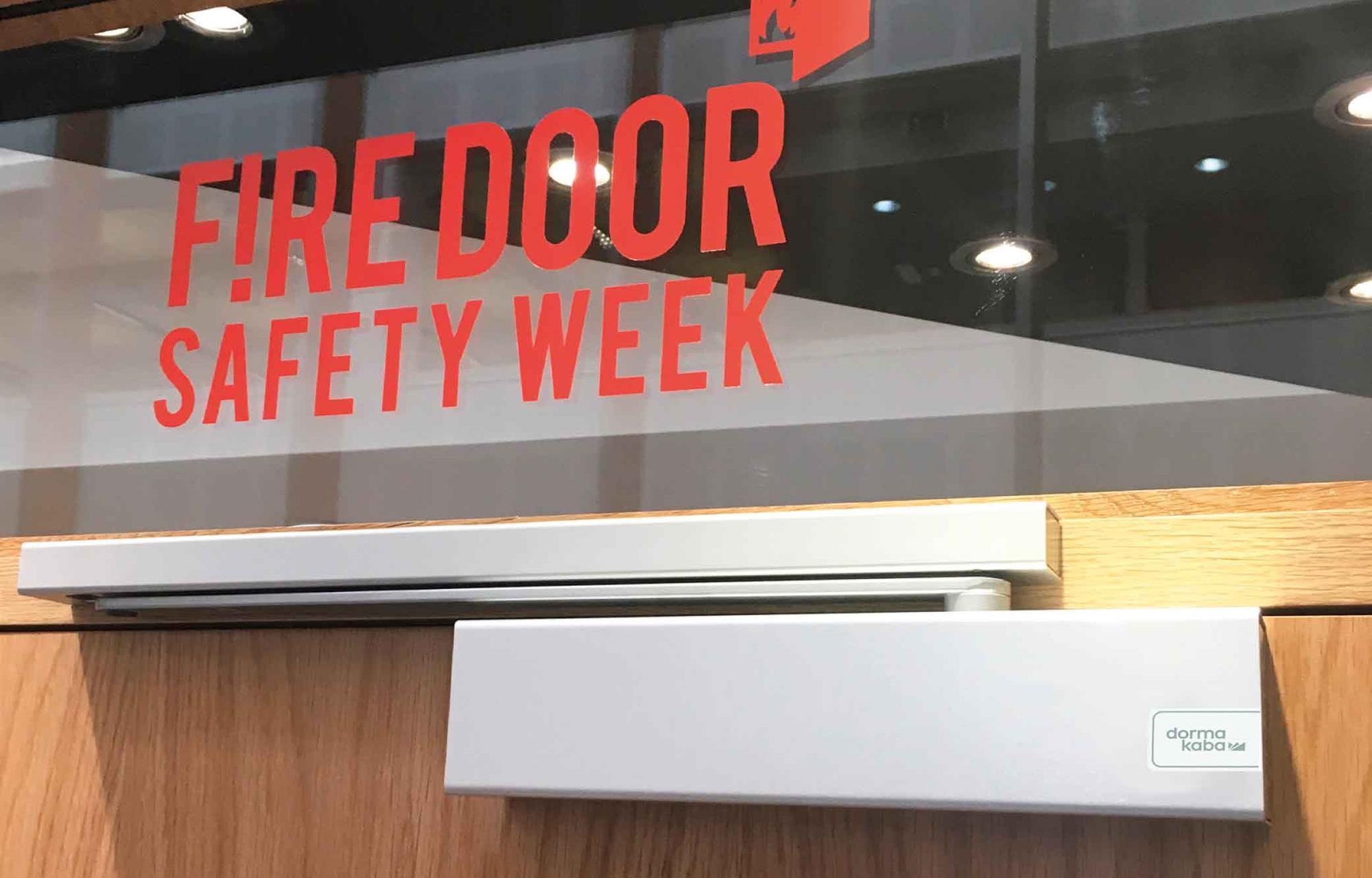 CPD 13 2019: Requirements for door hardware on fire doors