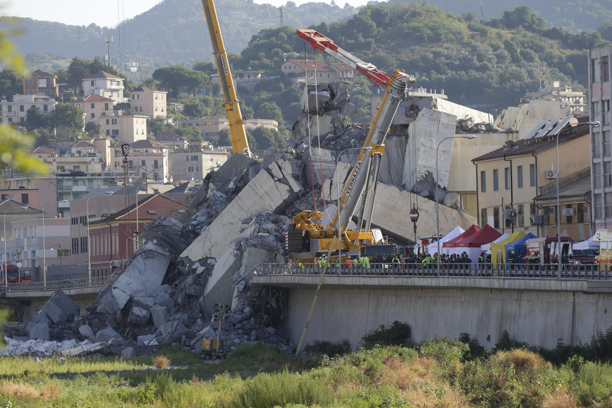 Speculation mounts over cause of bridge collapse in Genoa | News
