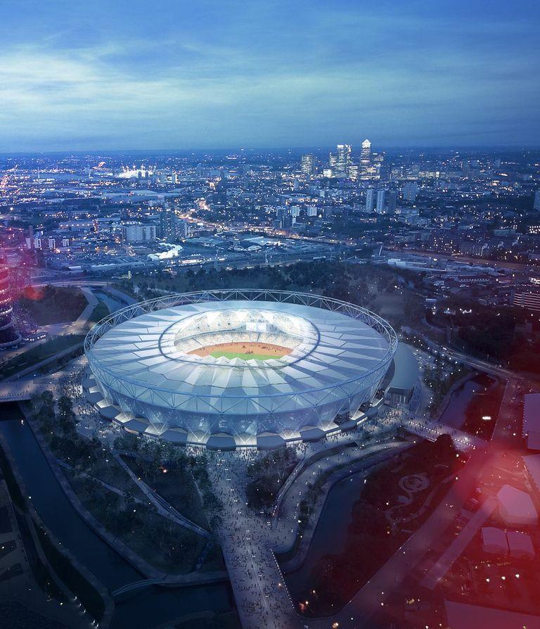 New Olympic stadium images revealed | News | Building