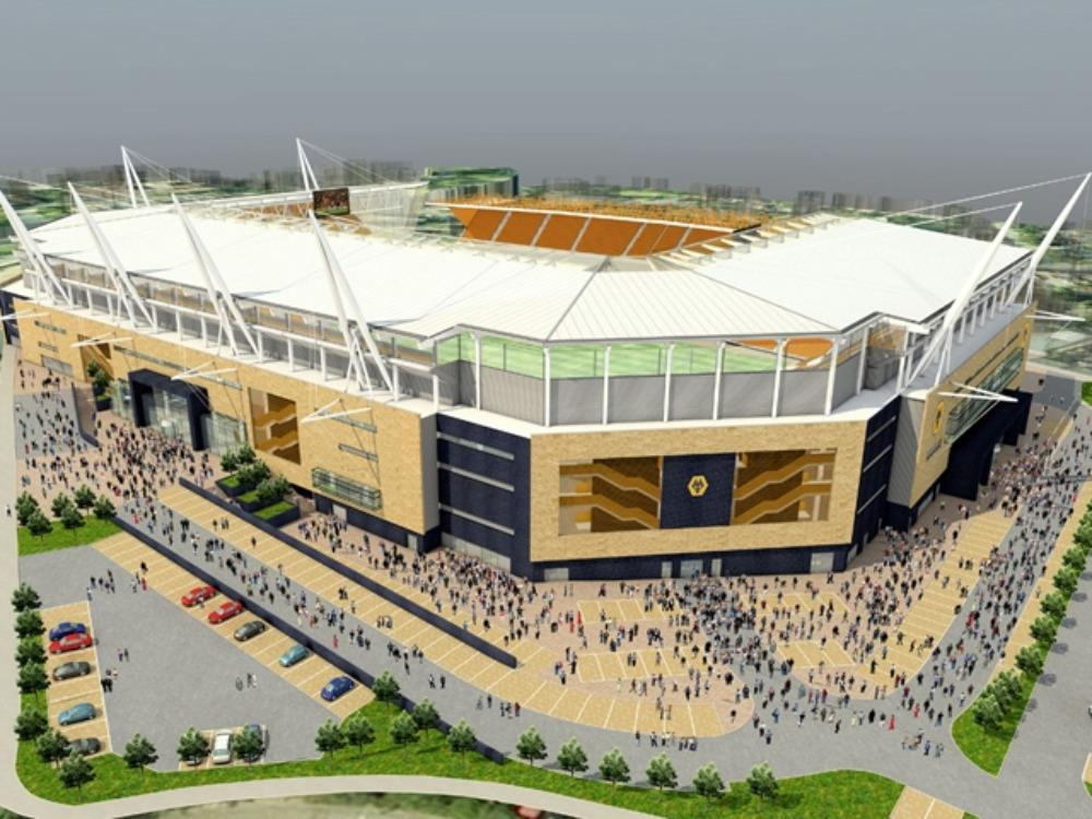 Wolves unveil £40m football stadium redevelopment plan | News ...