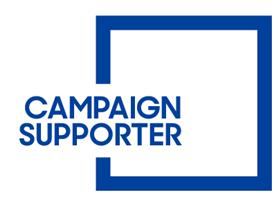 Campaign supporter logo