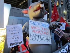 Cheesegrater blacklisting protest