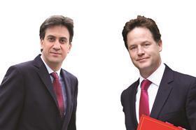Miliband and Clegg