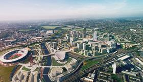Olympic Park and The International Quarter Stratford City