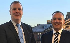 Photo of michael phillips (l) and lee summersgill (r) gleeds