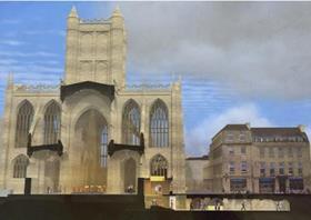 Bath abbey redesign