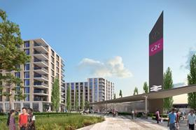 Beam Park development, Countryside and L&Q, london housing, station
