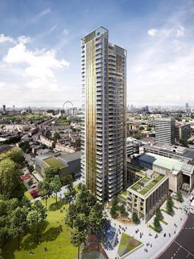 Lend Lease's St Mary's development in Elephant and Castle designed by Squire and Partners