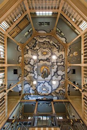 Sam Wanamaker Playhouse ceiling