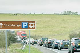 A303 stonehenge image