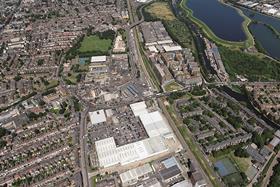 Tottenham Hale aerial photo