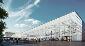 Stansted Arrivals Terminal, by Pascall & Watson Architects