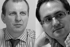 Steve Watts and Iain Parker