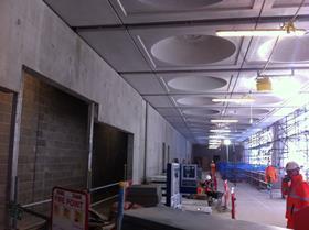 Crossrail Paddington station last week
