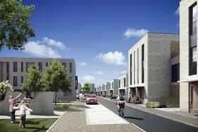 Design for Skanska homes at Seven Acres in Cambridge
