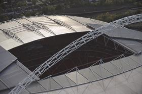 Wembley roof © alamy
