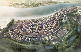 Barking Riverside masterplan