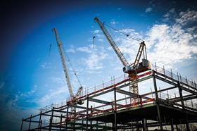 Two_cranes_-_construction
