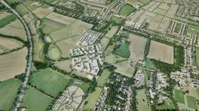 North West Cambridge deveolpment masterplanned by Aecom