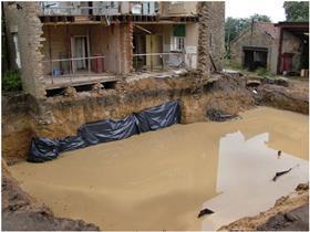 Dangerous basement excavation in Yorkshire