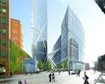Broadgate Tower developed by British Land