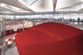 Pringle Brandon designed the Siemens sustainability centre's interiors