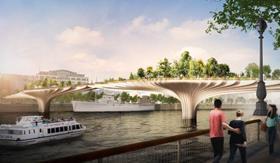 Heatherwick - London garden bridge