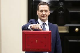 George Osborne July Budget 2015