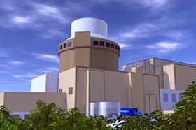 AP1000 nuclear reactor by Westinghouse