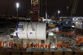 Crossrail - 'Elizabeth' tunnelling machine