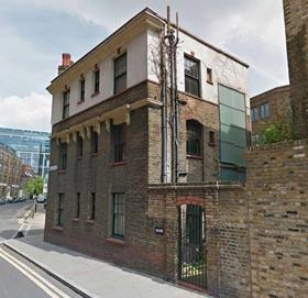 The existing building at 66-68 Bell Lane, Spitalfields
