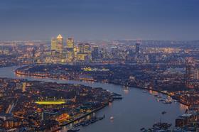 Thames, East End, docklands