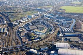 The Cargiant site at Old Oak Common