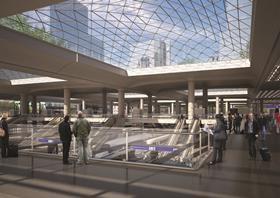 High Speed 2 Euston Station CAD
