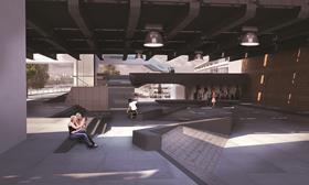 SNE Architects' design for Southbank Center skate park