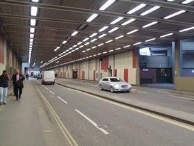 Barbican road tunnel