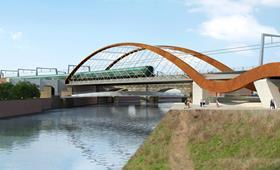 Ordsall Chord project by BDP for Network Rail